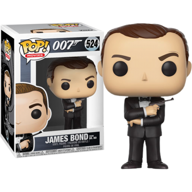 Funko Pop Movies James Bond Sean Connery