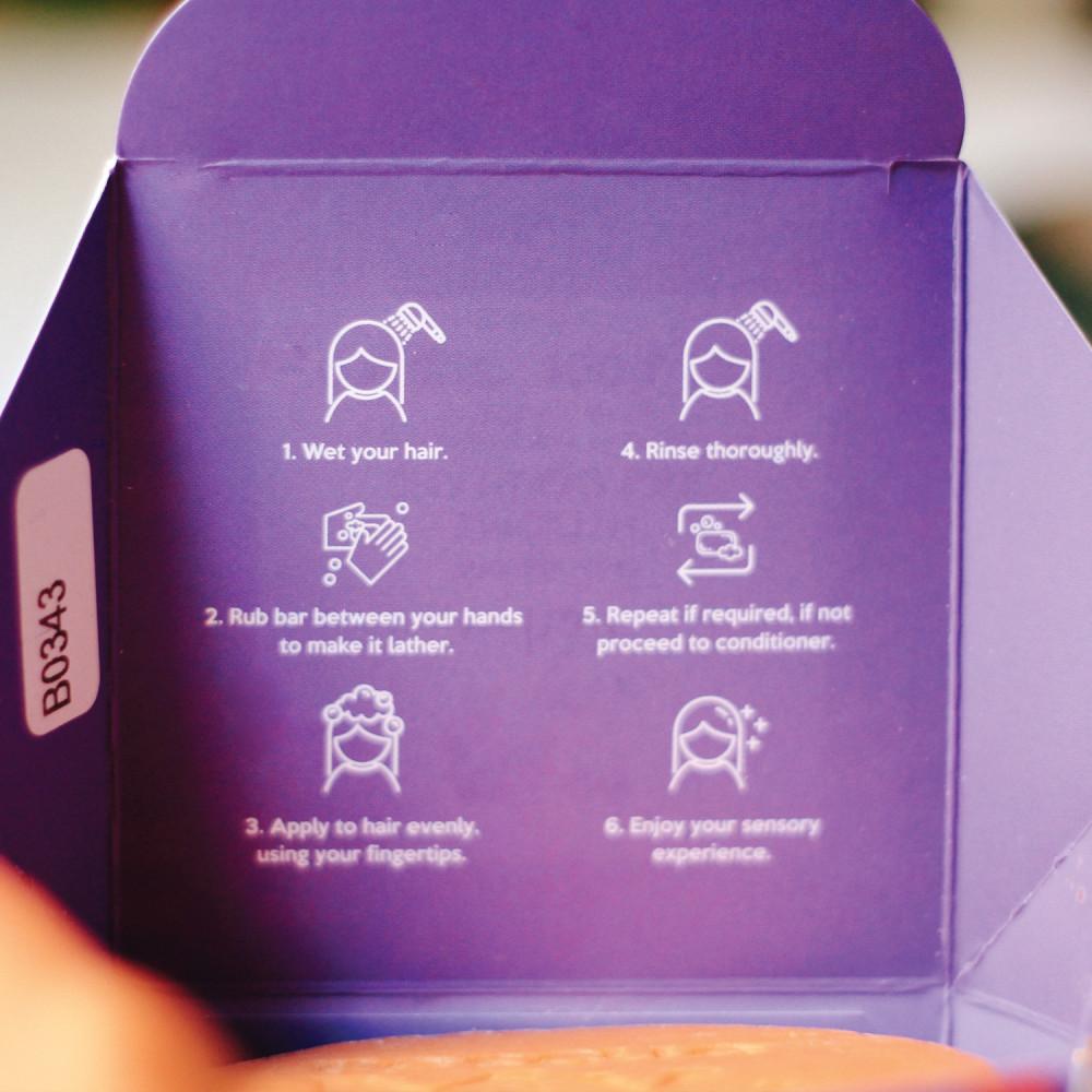طريقة استخدام شامبو بار لتنعيم الشعر