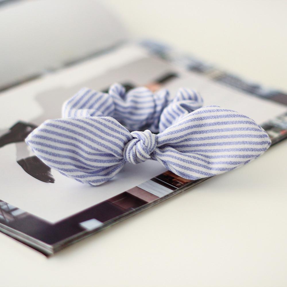 ربطة شعر على شكل فيونكة  نسائي زينة للشعر أكسسوار للشعر ستايل
