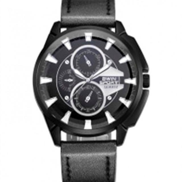 95934a541 بو الجلود كرونوغراف ساعة اليد للرجال 7044 - الدكان الصغير