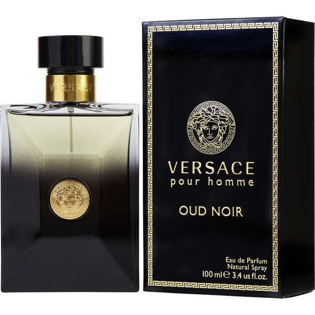 Pour Edp Ml Versace Noir Men 100 For Homme Oud NwO0mv8n