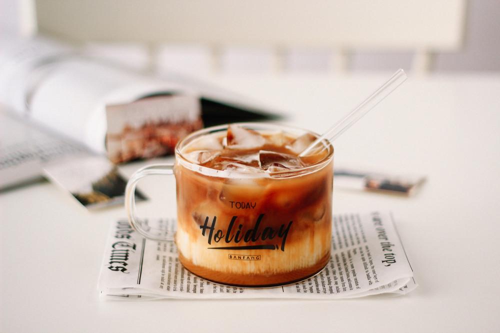 مزاز زجاج شفاف مصاص ستروو شفاط مزاز مشروبات باردة مزاز عصير