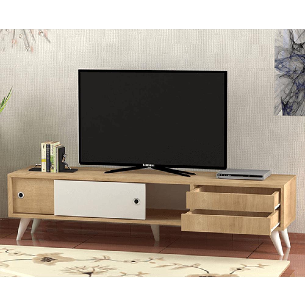 صور طاولات التلفاز طاولة تلفزيون خشب موديل سمات حصرية ومميزة مواسم