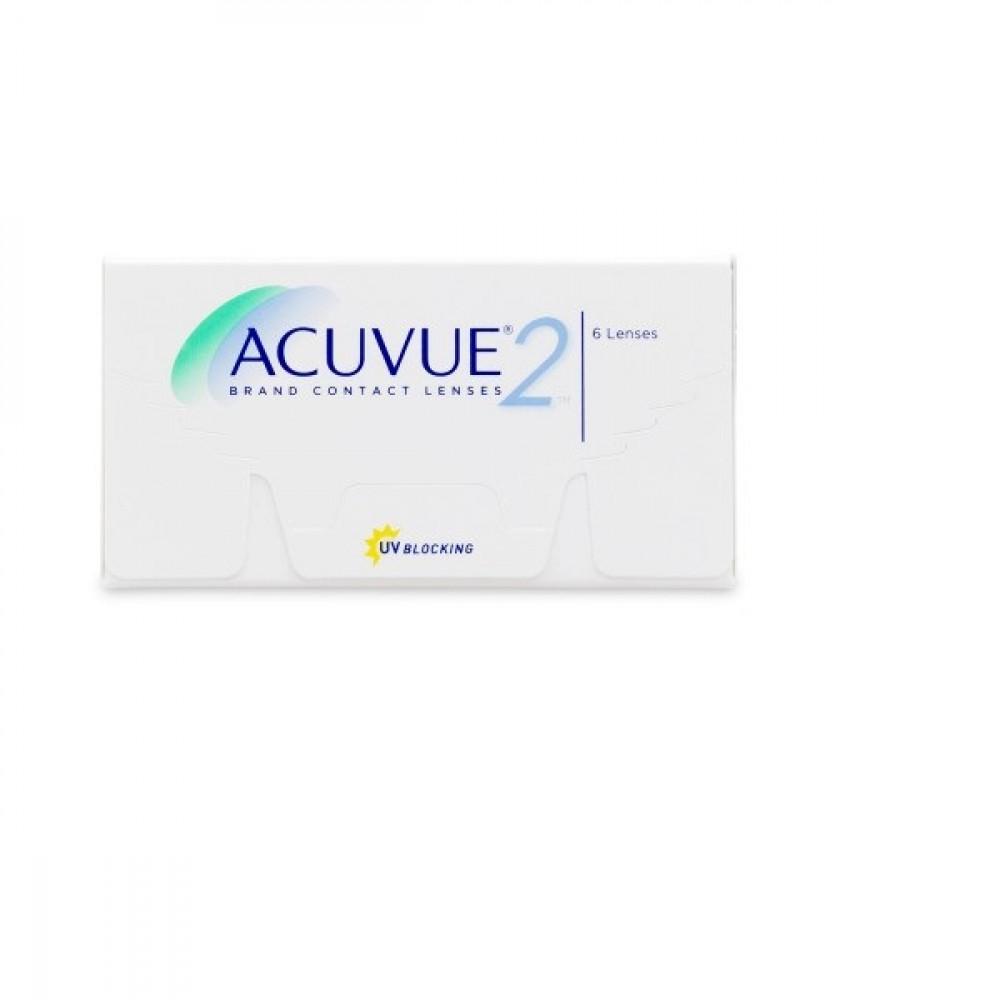 عدسات أكيوفيو 2 Acuvue 2 lenses طبية شفافة أسبوعية