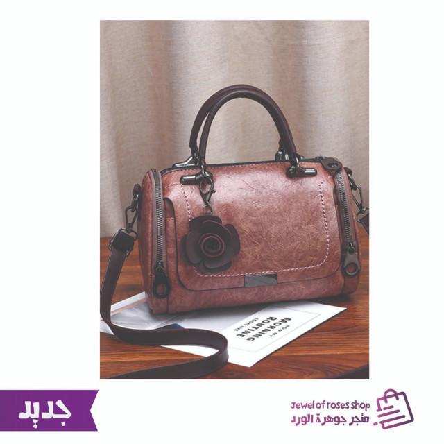 41e375a1b حقيبة يد نسائية - بتصميم كلاسيكي بسيط - متجر جوهرة الورد