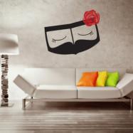 ملصق حائط البرقع