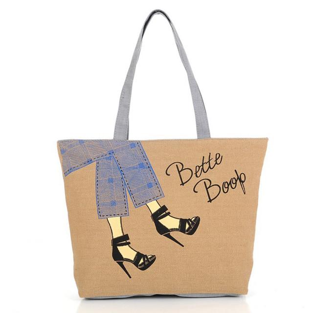 05fa595c1 حقيبة للبنات-بني ثعلبي - حقائب بوكيت من الكتان - قصر الكماليات
