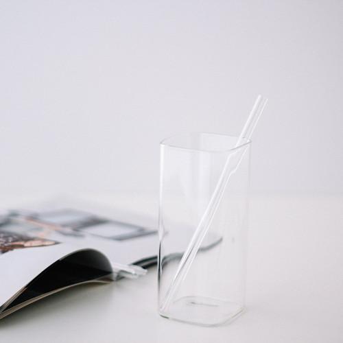 مزاز زجاج شفاف مصاص سترو شفاط مزاز مشروبات باردة مزاز عصير