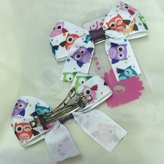 9610dde0c24d2 بكلة حديد زوج بـ مطبوعات ملونة بوم - فنون لإكسسوارات الشعر Funoon