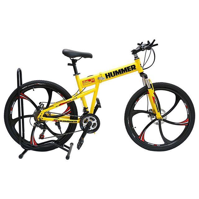 2d47b39353685 دراجة همر اللون اصفر مراوح - أرض الدراجات