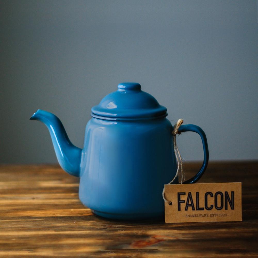 فالكون ابريق شاي منتجات المينا إبريق الشاي براد شاي ابريق معدن مخيم