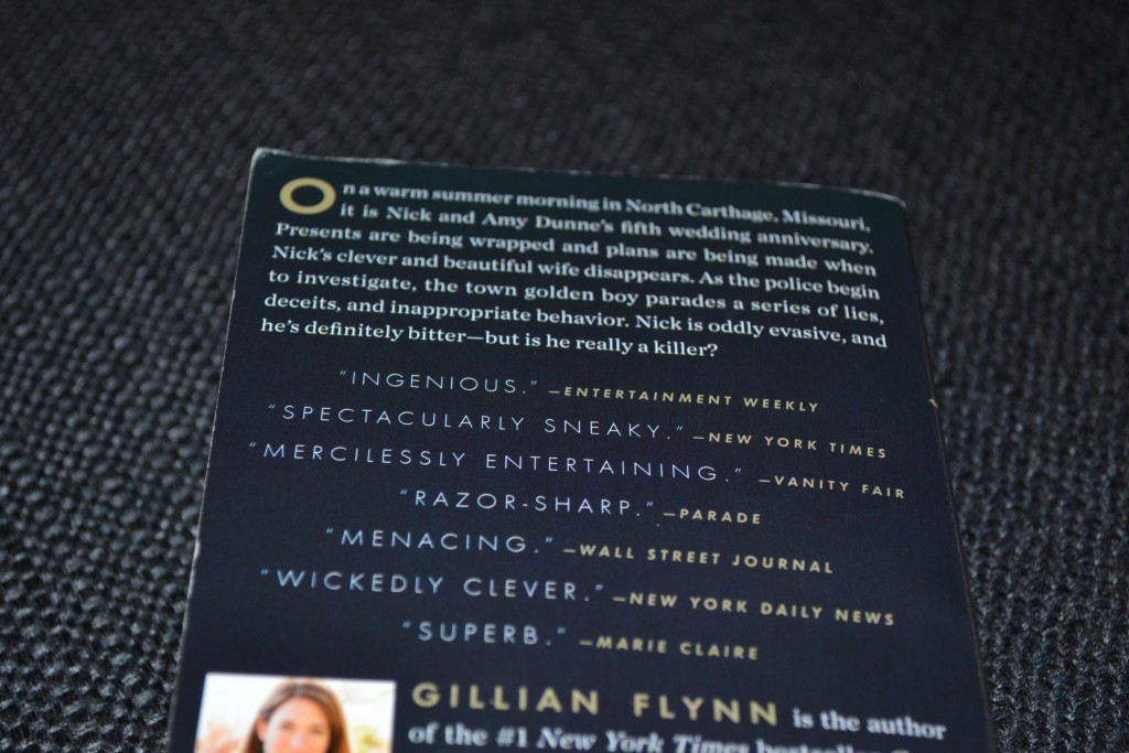 Books: Gone Girl | Gillian Flynn - DSC 0070 1024x683