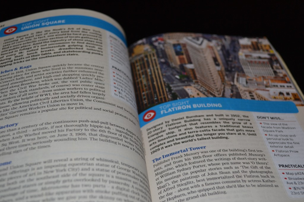 Review: Lonely Planet New York City - DSC 0039 1024x683