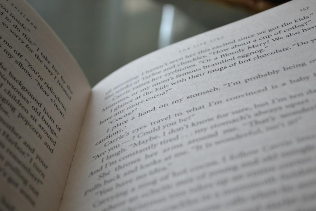 Books: The Life List | Lori Nelson Spielman - DSC 0165 1024x683