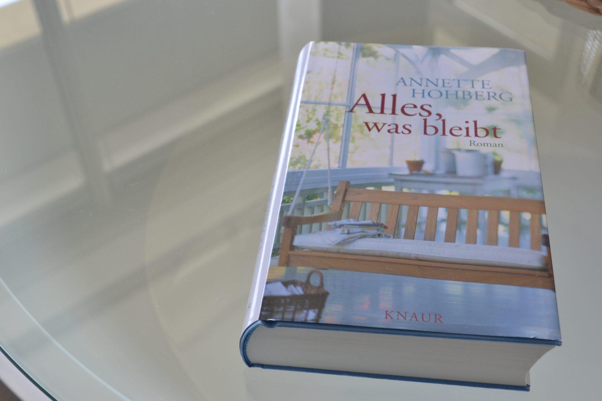 Books: Alles, was bleibt | Anette Hohberg - DSC 0321
