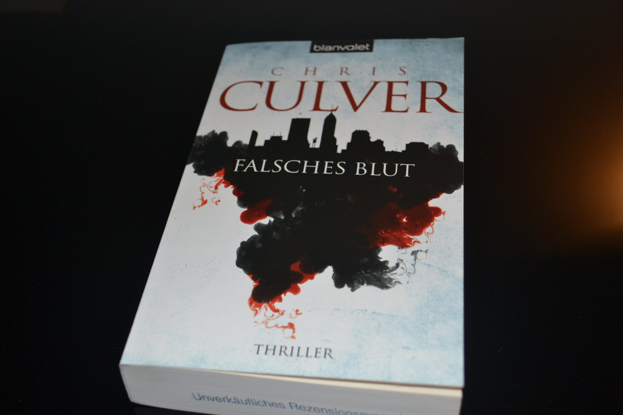 Books: Falsches Blut | Chris Culver - DSC 0003