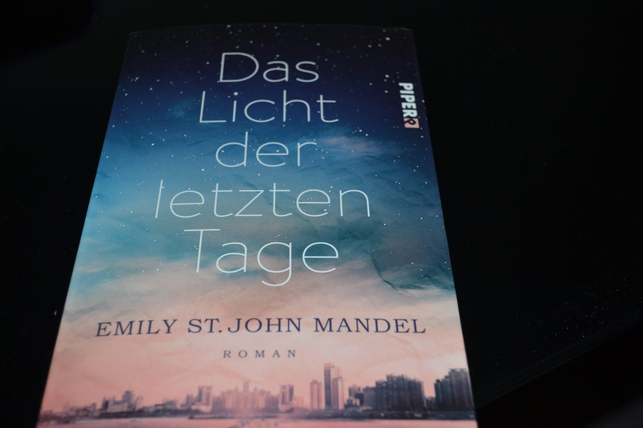 Books: Das Licht der letzten Tage | Emily St. John Mandel - DSC 0473
