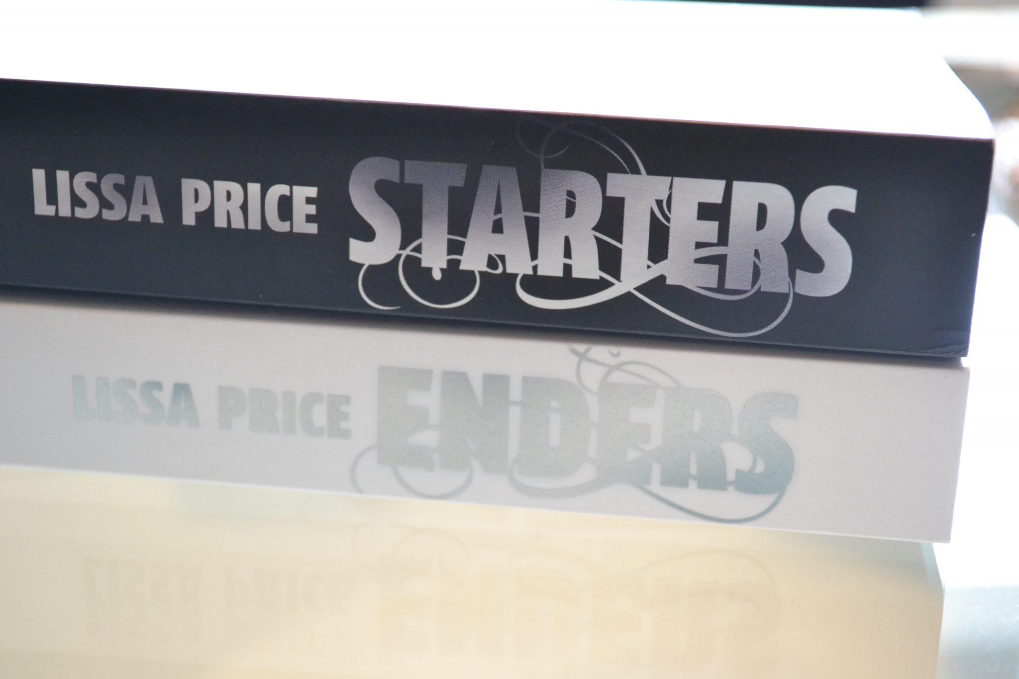 Books: Starters & Enders | Lissa Price - DSC 0114