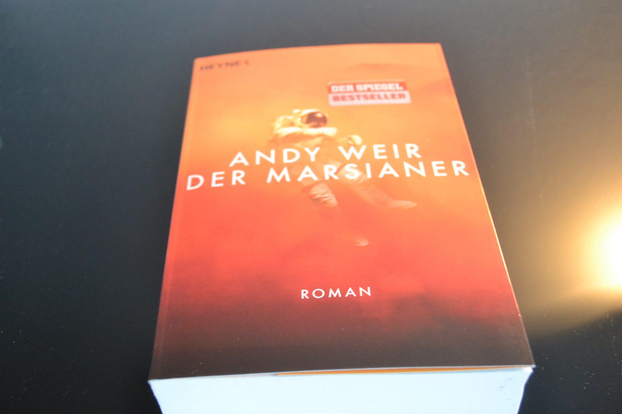 Books: Der Marsianer | Andy Weir - DSC 0023