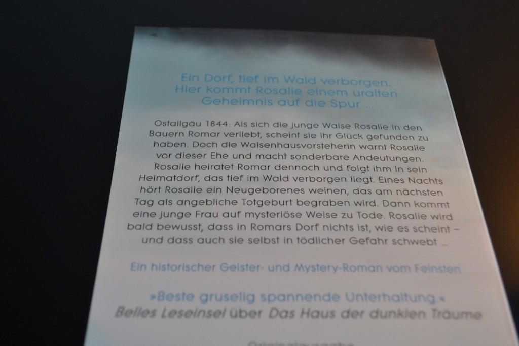 Books: Das verlorene Dorf | Stefanie Kasper - DSC 0014 1024x683