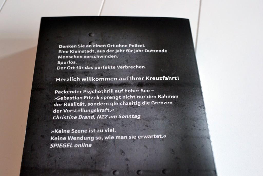 Books: Passagier 23   Sebastian Fitzek - Passagier 23 2 1024x683