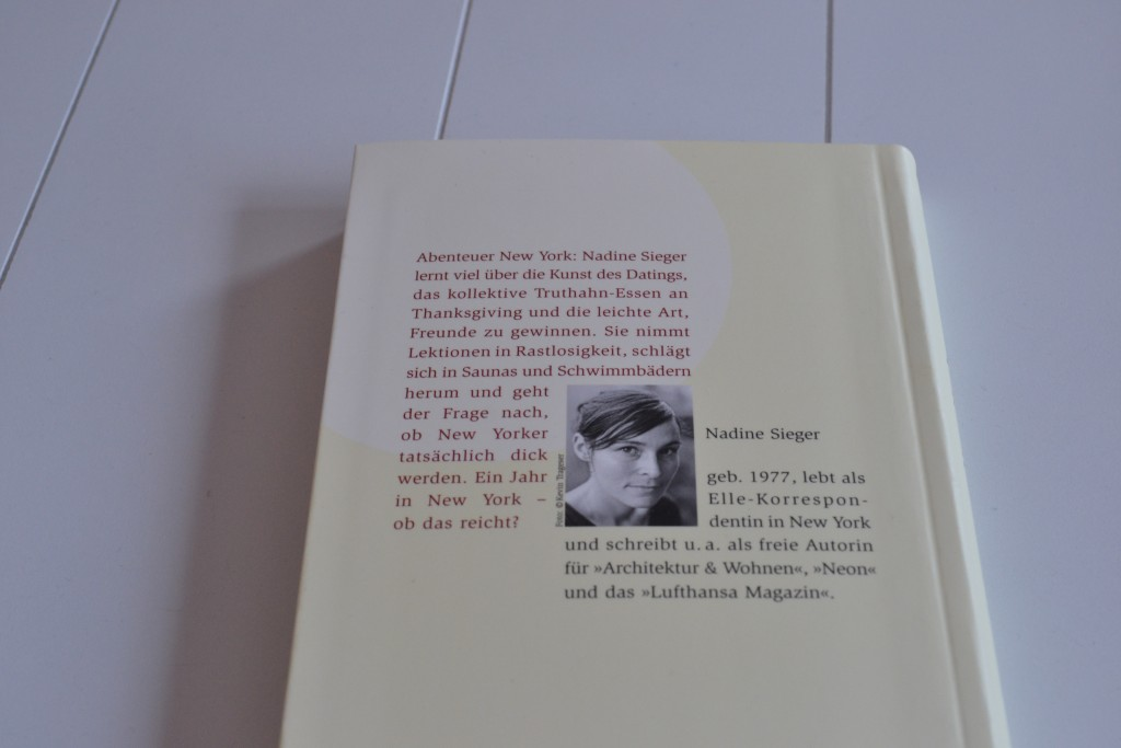 Books: Ein Jahr in New York   Nadine Sieger - DSC 0445 1024x683