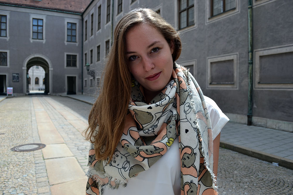 Outfit: Codello Original Dumbo Scarf & winactie // Munich - Codello 6