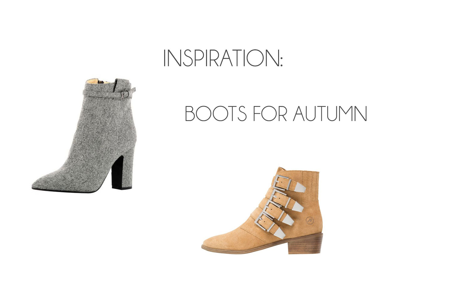 Inspiration: Boots for Autumn ♥ - Inspiration