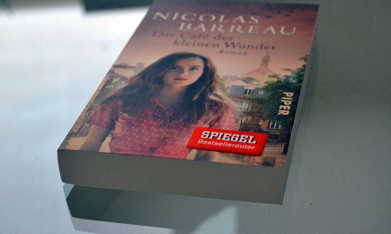 Books: Das Café der kleinen Wunder | Nicolas Barreau & Gewinnspiel - Das Cafe der kleinen Wunder 800x480