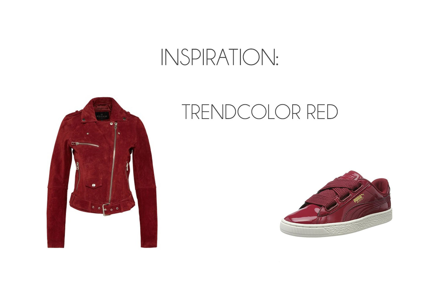 Inspiration: Autumn Trendcolor Red