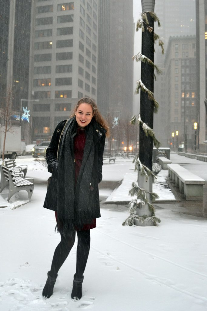 Outfit: Wearing Dresses in Winter - Winterdress 2 683x1024