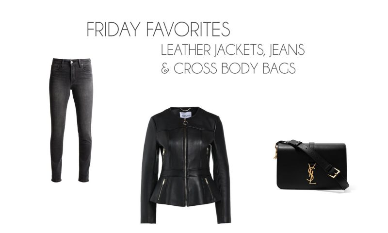 Friday Favorites: Leather Jackets, Jeans & Cross Body Bags - Friday Favorites 2 800x480