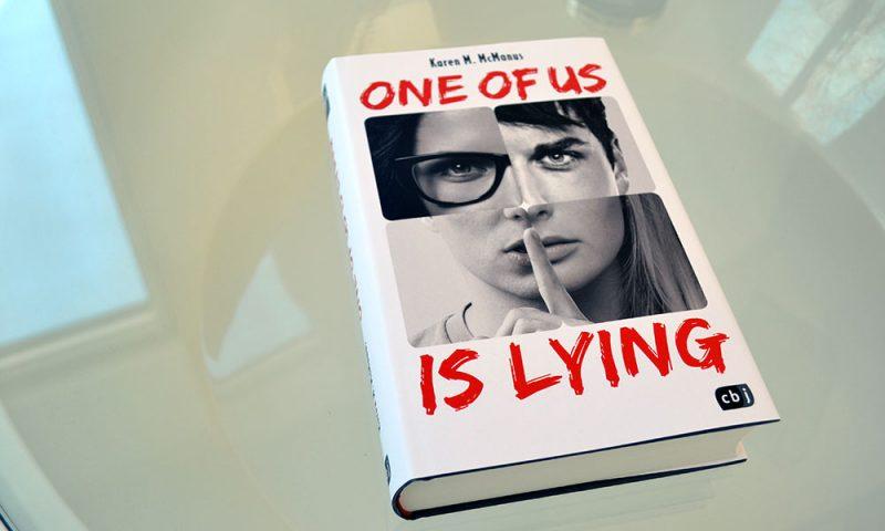 Books: One of us is lying | Karen M. McManus - OneOfUsIsLying 800x480