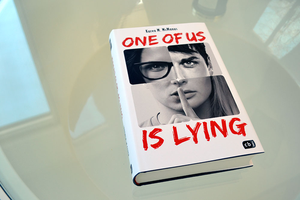 Books: One of us is lying | Karen M. McManus - OneOfUsIsLying
