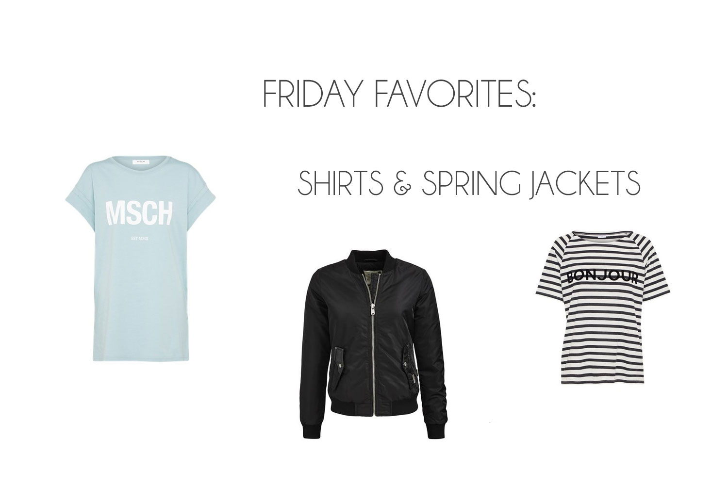 Friday Favorites: Shirts & Spring Jackets - Friday Favorites 3
