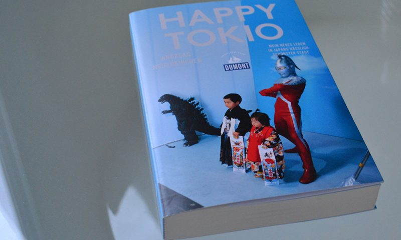 Books: Happy Tokio | Andreas Neuenkirchen - Happy Tokio 800x480