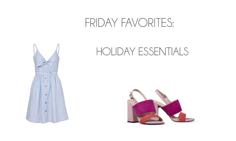 Friday Favorites: Holiday Essentials - Holiday Essentials 800x480