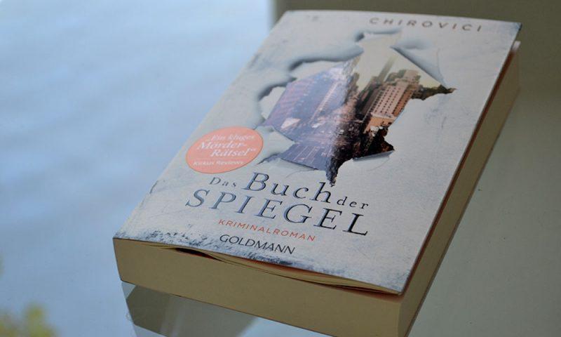 Books: Das Buch der Spiegel | E.O. Chirovici - Das Buch der Spiegel 800x480