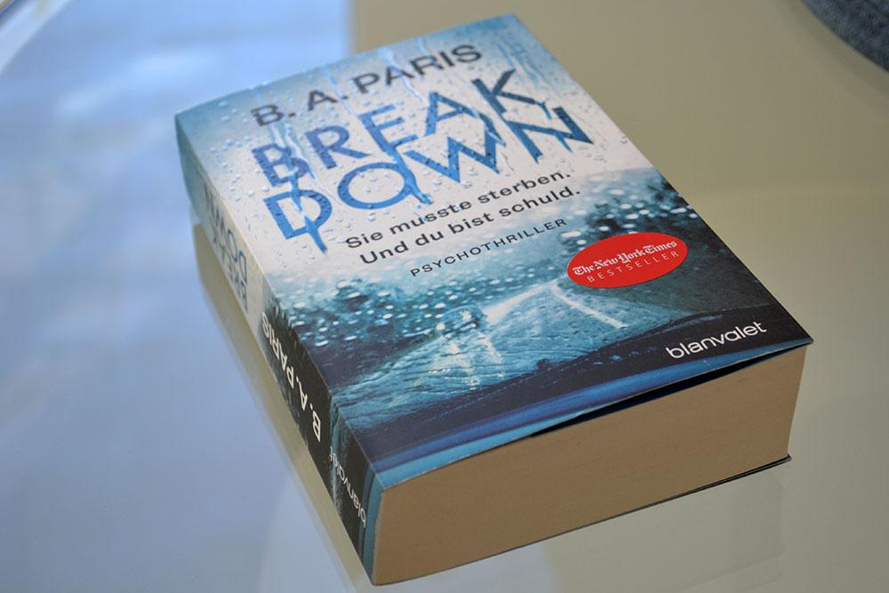 Books: Break Down | B.A. Paris