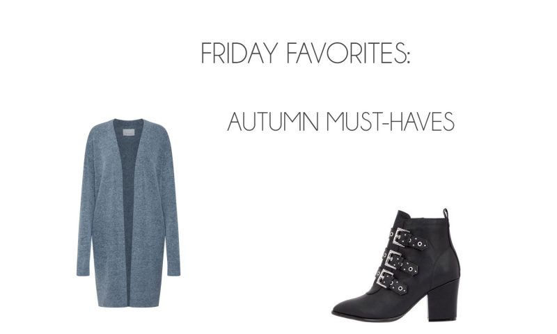 Friday Favorites: Autumn Must-Haves - October 2018 800x480