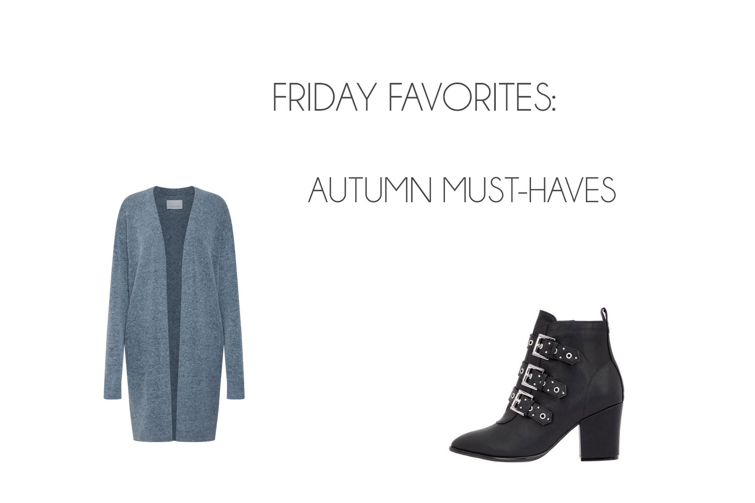 Friday Favorites: Autumn Must-Haves