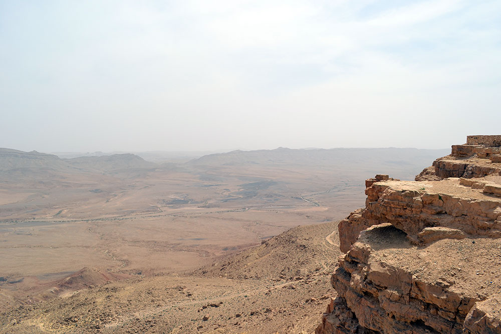 Travel Tip: Onze reisroute voor een roadtrip in Israël - MitzpeRamon 4