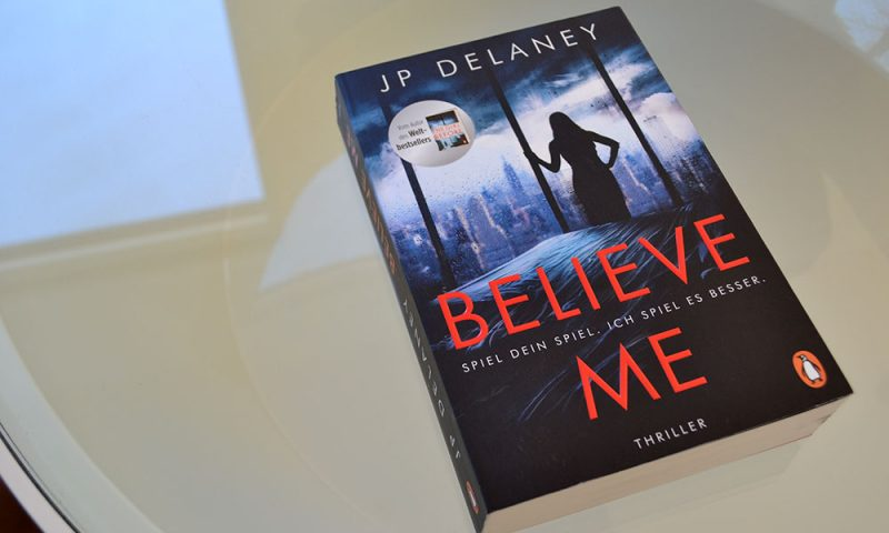 Books: Believe Me | JP Delaney - Believe Me 800x480