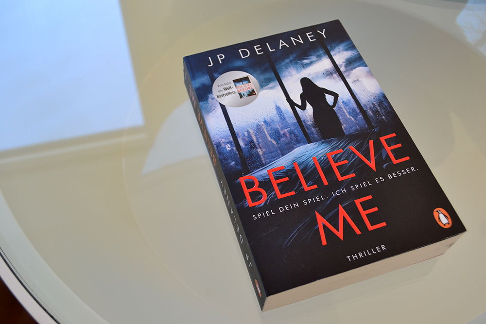 Books: Believe Me | JP Delaney