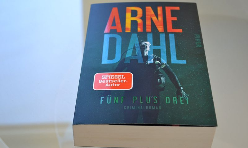 Books: Fünf Plus Drei | Arne Dahl - F%C3%BCfn plus drei 800x480