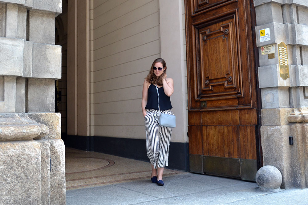 Lesson Learned: Less is More - Striped Culottes 8 1