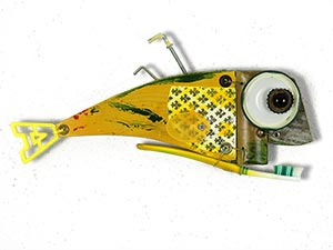 Sculptures, Wooden Fish, Pesce di Legno