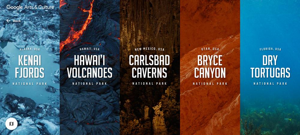 национальный парки онлайн