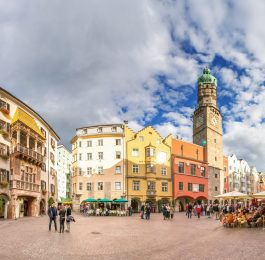 Innsbruck Altstadt Goldenes Dachl, Panorama