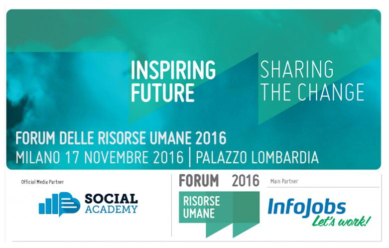 3 motivi per partecipare al Forum delle Risorse Umane 2016